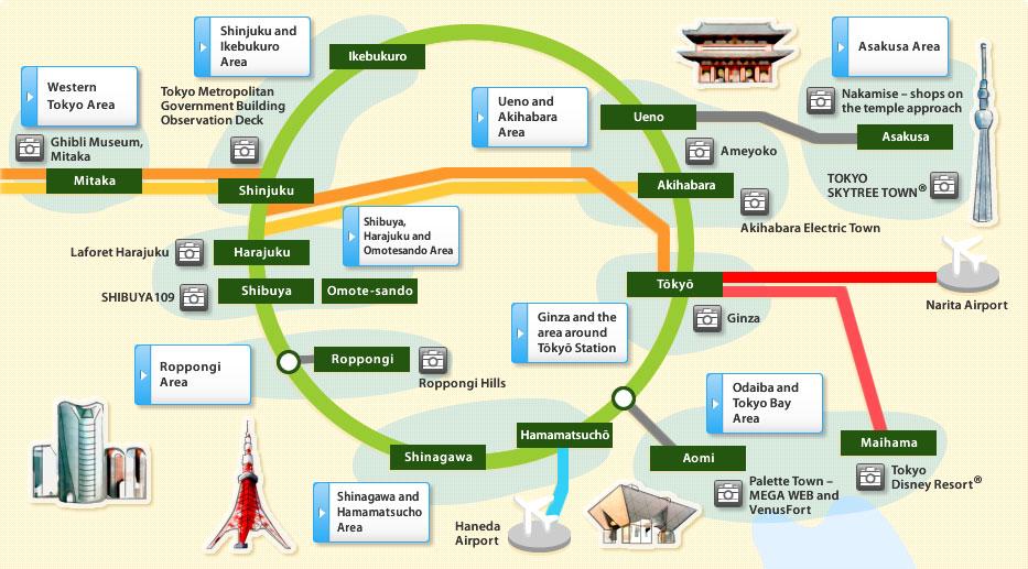 Hvor skal man bo i Tokyo?
